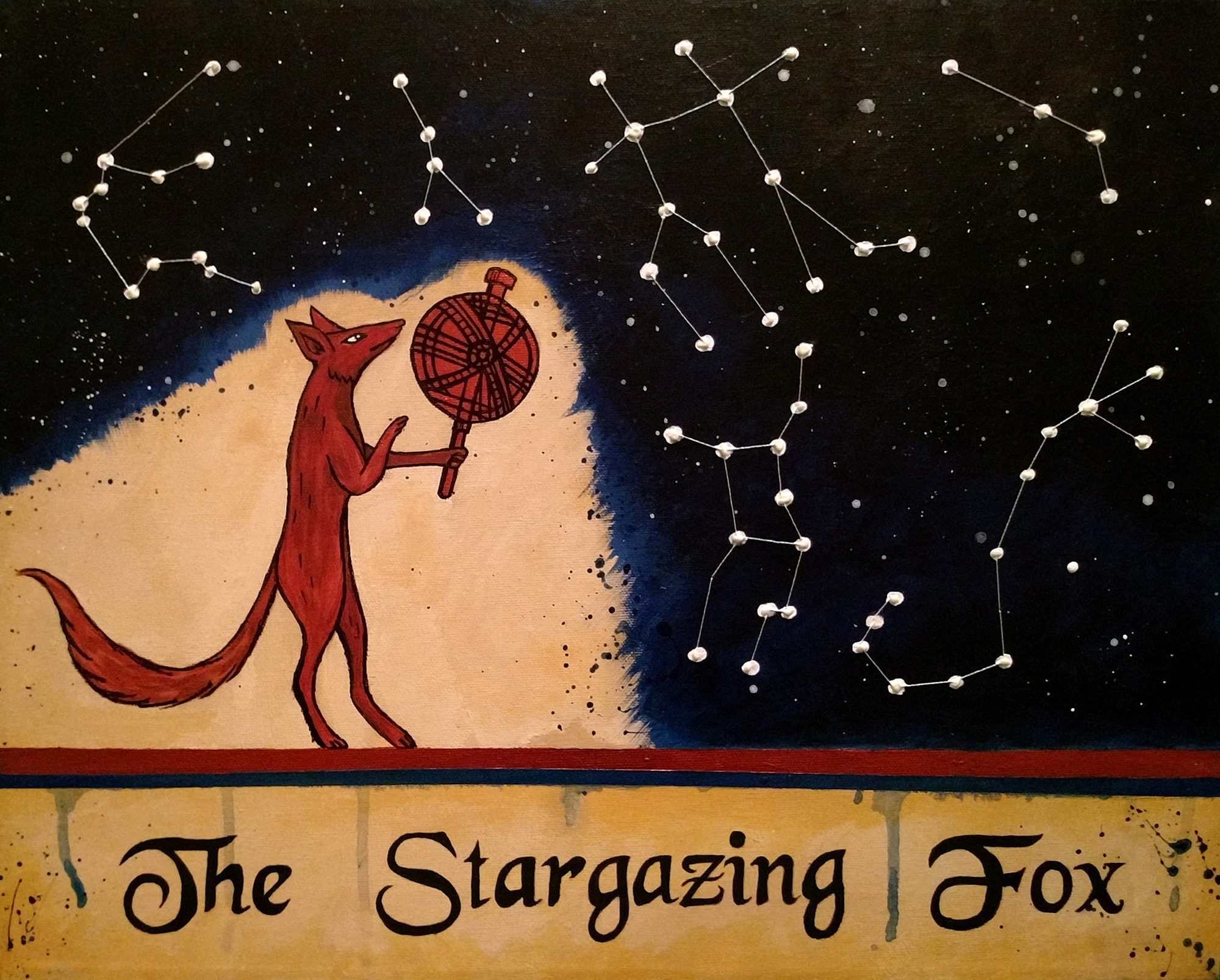 The Stargazing Fox banner image